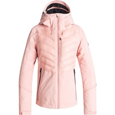 Roxy Womens Roxy Premiere Snow Jacket - Coral Cloud