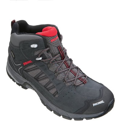 Meindl Mens Journey Mid GTX Walking Boot - Anthracite Red