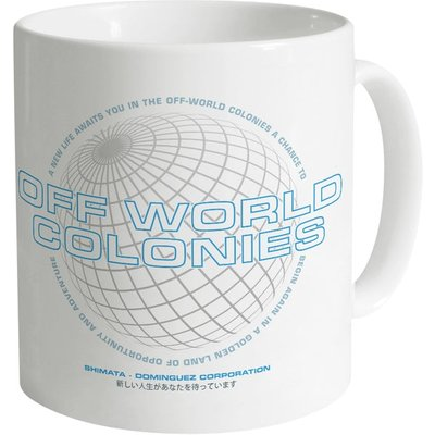 Inspired By Blade Runner – Off World Colonies Mug