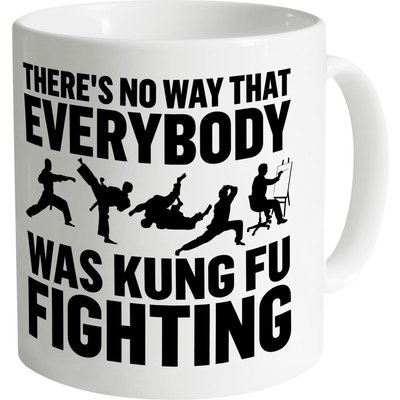 Kung Fu Fighting Mug