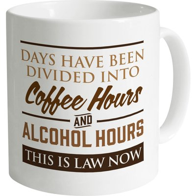 Coffee Vs Alcohol Mug