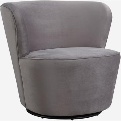 Andrew Martin Dorothy Swivel Chair, Grey