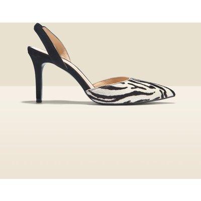 Ciara Zebra Print Court Shoe