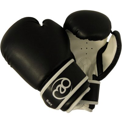 Boxing Mad Junior Synthetic Leather Sparring Gloves - 5060045901385