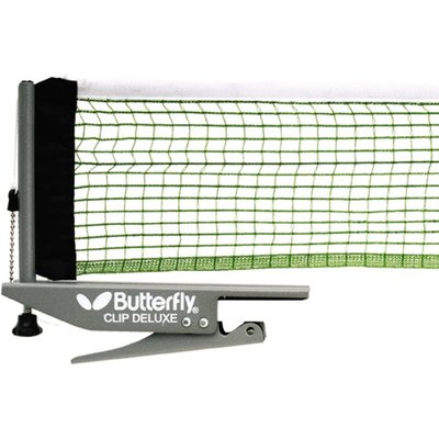 5060097411139 | Butterfly Clip Deluxe Table Tennis Net and Post Set