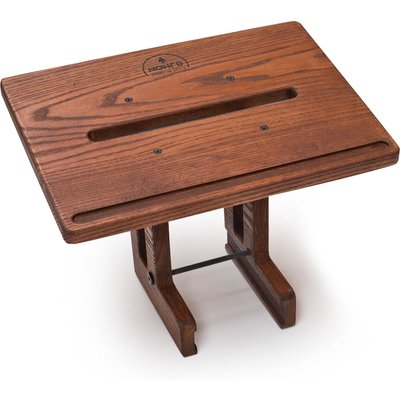 NOHrD by WaterRower Walnut Laptop Stand