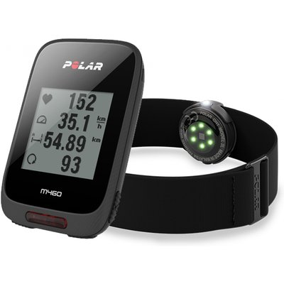 Polar M460 GPS Bike Computer with OH1 Optical Heart Rate Sensor