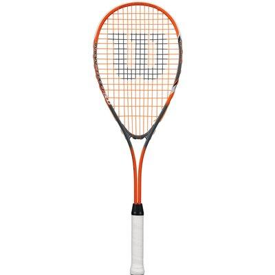 Wilson Impact Pro 500 Squash Racket   Orange Grey - 0887768477882