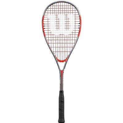 Wilson Impact Pro 900 Squash Racket   Grey Red - 0887768477929
