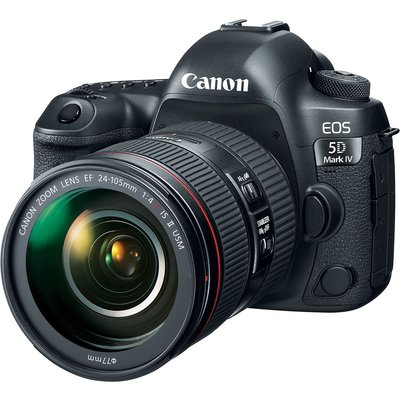 Canon EOS 5D Mark IV (MK IV) Kit with EF 24-105mm f4L II Lens Digital SLR Cameras
