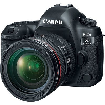Canon EOS 5D mark IV (MK IV) Kit with EF 24-70mm f4L Lens Digital SLR Cameras