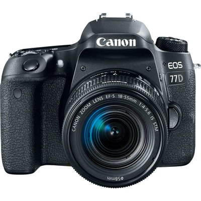 Canon EOS 77D Kit with EF-S 18-55mm f/4-5.6 IS STM Lens Digital SLR Camera