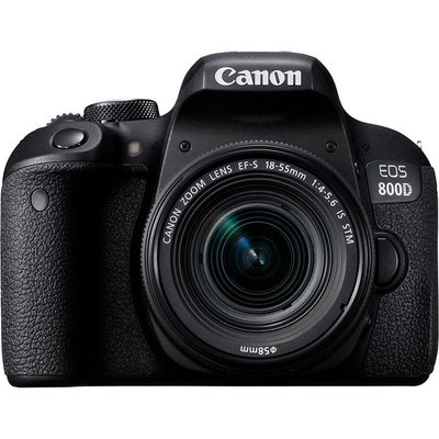 Canon EOS 800D Kit with 18-55mm f/4-5.6 IS STM Lens Digital SLR Cameras
