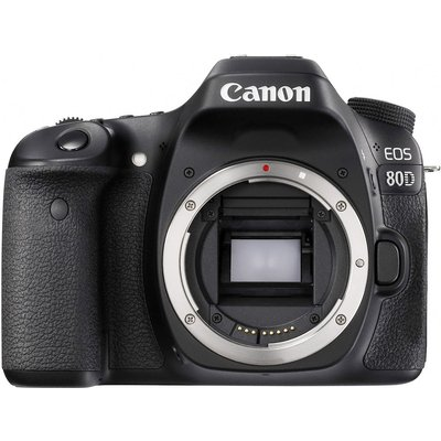 Canon EOS 80D Kit with 18-55mm f/4-5.6 IS STM Lens Digital SLR Cameras