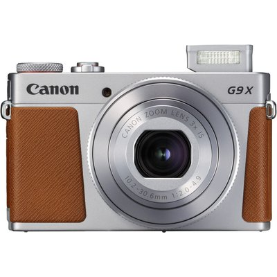 Canon Powershot G9X Mark II Digital Cameras - Silver