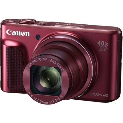 Canon Powershot SX720 HS Digital Cameras - Red