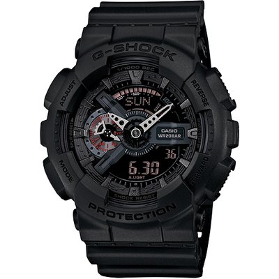 Casio G-SHOCK Analog-Digital Watch GA-110MB-1A - Matte Black
