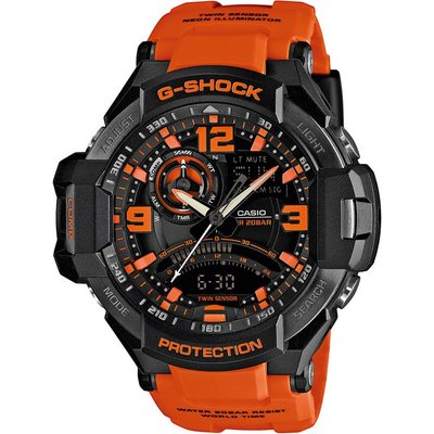 Casio G-SHOCK Gravity Defier Watch GA-1000-4A - Orange