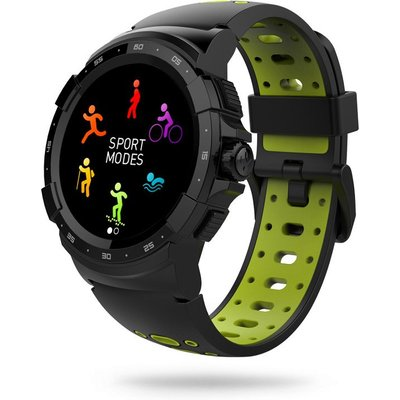 MyKronoz Zesport 2 Multisport GPS Watch - Black/Green