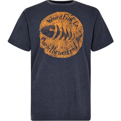 Weird Fish Mens Woodcut T-Shirt