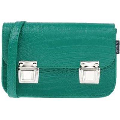 LA CARTELLA BAGS Handbags Women on YOOX.COM, Green