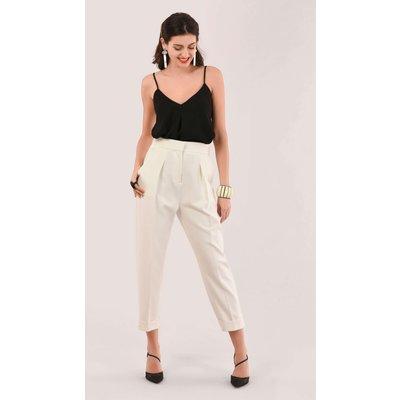 Closet London White Tailored Trouser