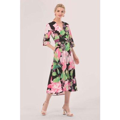 Closet London Green High-Low Wrap Dress