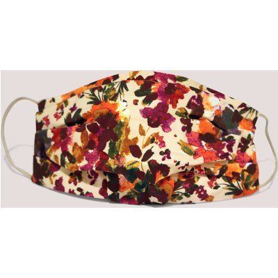 Maroon Double Layer Face Mask