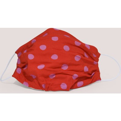 Red Spotted Double Layer Face Mask