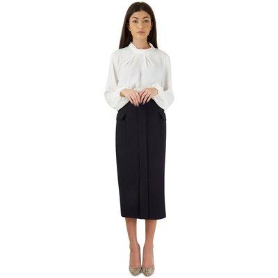 Closet Split Front Pocket Pencil Skirt