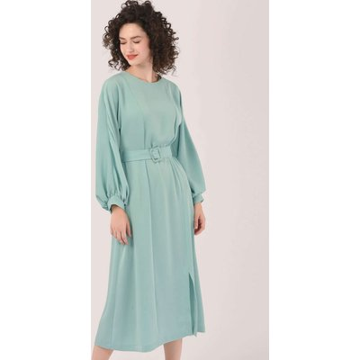 Closet London Green Kimono Midi Dress