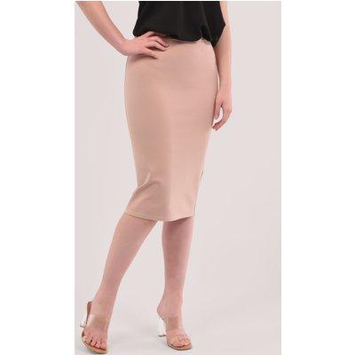 Closet London Pink Pencil Skirt