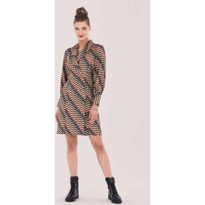 Closet London Multi Puff Sleeve Blazer Dress
