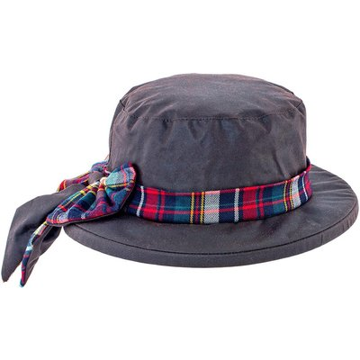 Heather Womens  Alba Wax Bow Hat Brown One