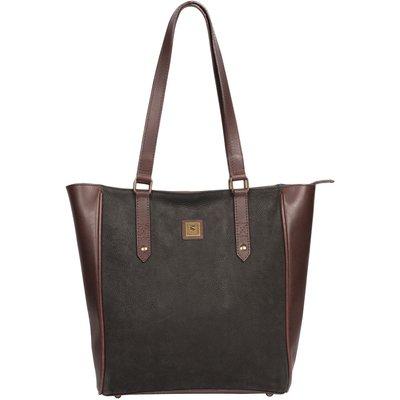 Dubarry Bandon Medium Tote Bag Black/Brown