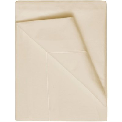 Belledorm 400 Thread Count Flat Sheet Cream Superking