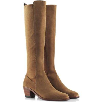 Fairfax & Favor Womens Belgravia Boots Tan Suede