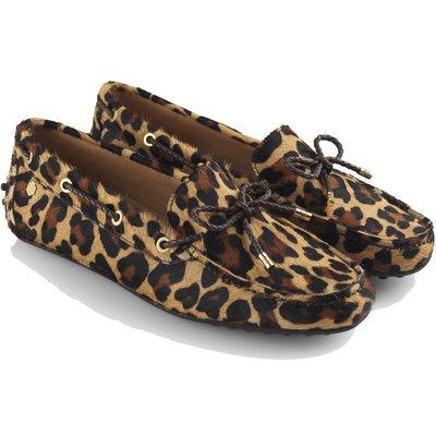 Fairfax & Favor Womens Henley Loafers Jaguar Hair Calf