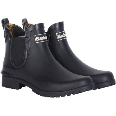 Barbour Womens Wilton Wellington Boots Black