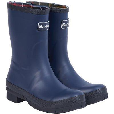 Barbour Womens Banbury Wellington Boots Navy