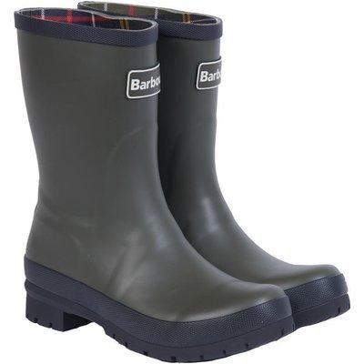 Barbour Womens Banbury Wellington Boots Olive