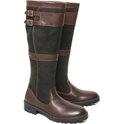 Dubarry Womens Longford Boots Black/Brown
