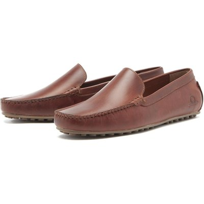 Chatham Mens Ludlow Loafers Brown