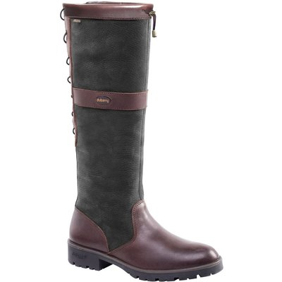 Dubarry Womens Glanmire Boots Black/Brown