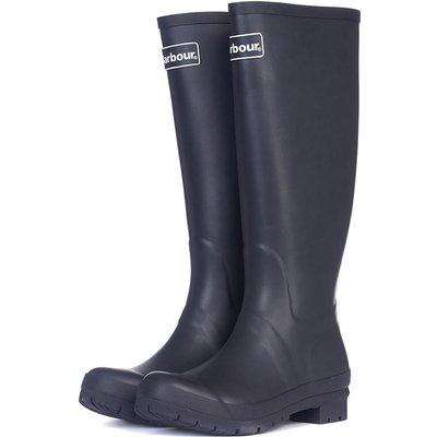 Barbour Womens Abbey Wellington Boots Black