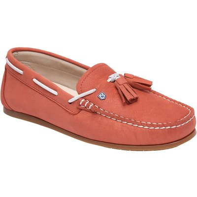 Dubarry Womens Jamaica Loafers Coral