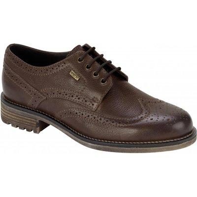 Hoggs Of Fife Mens Connel Waterproof Brogue Shoe Antique Brown