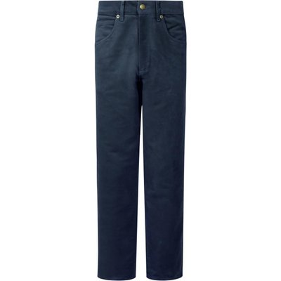 Hoggs Of Fife Mens Moleskin Jeans Dark NavyR