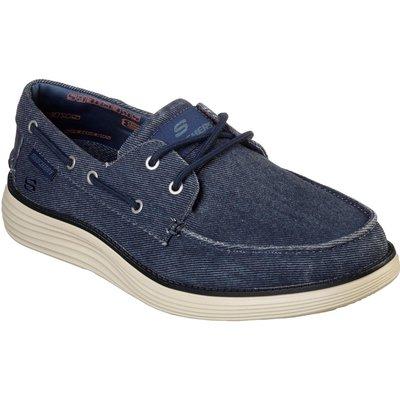 Skechers Mens Status.0 Lorano Shoes Navy