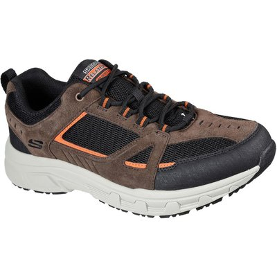 Skechers Mens Oak Canyon Duelist Shoes Chocolate/Black